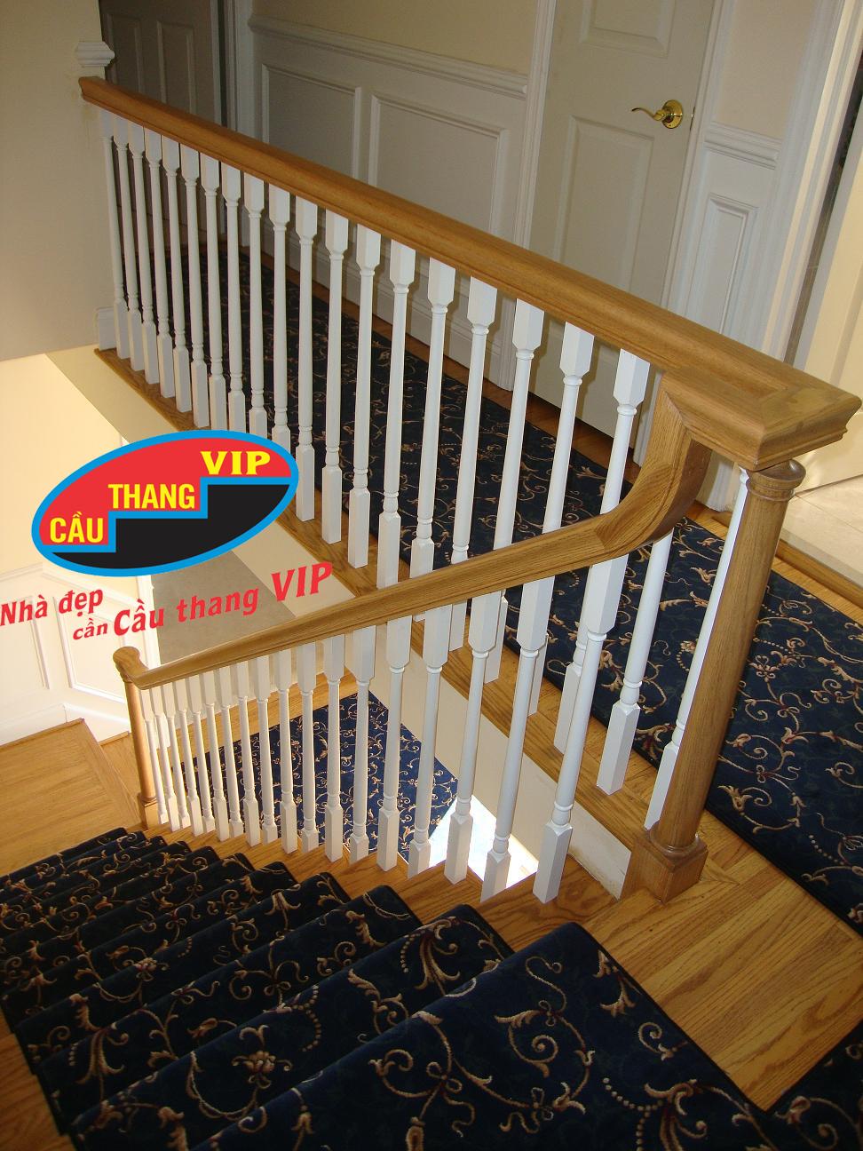 Cầu thang gỗ VIP G031