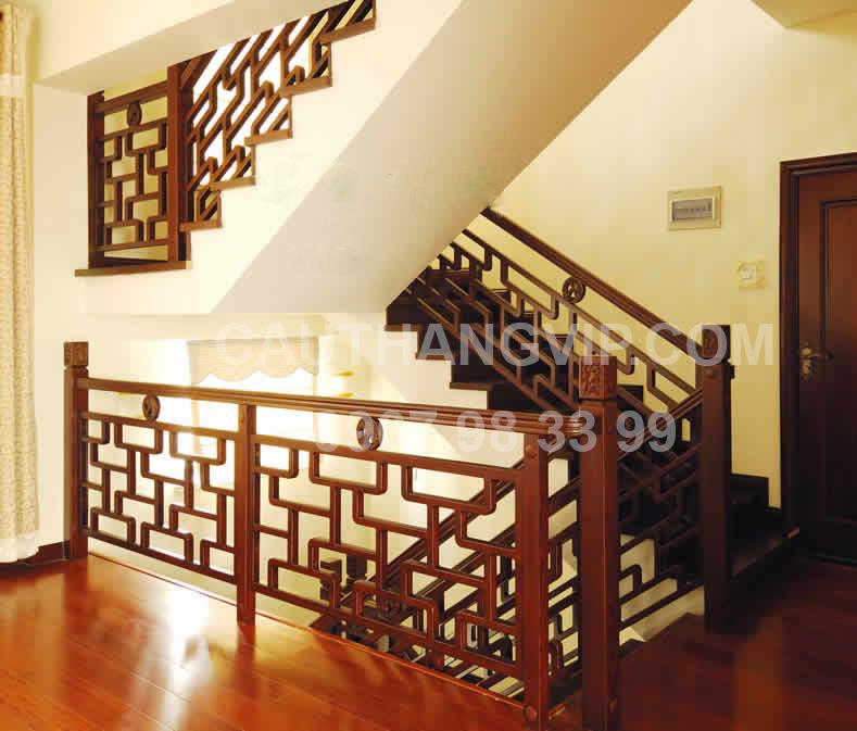 Cầu thang gỗ VIP G11
