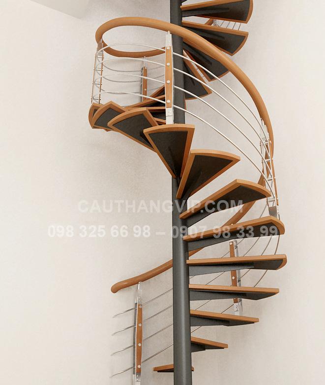 Cầu thang xương sắt VIP XS04
