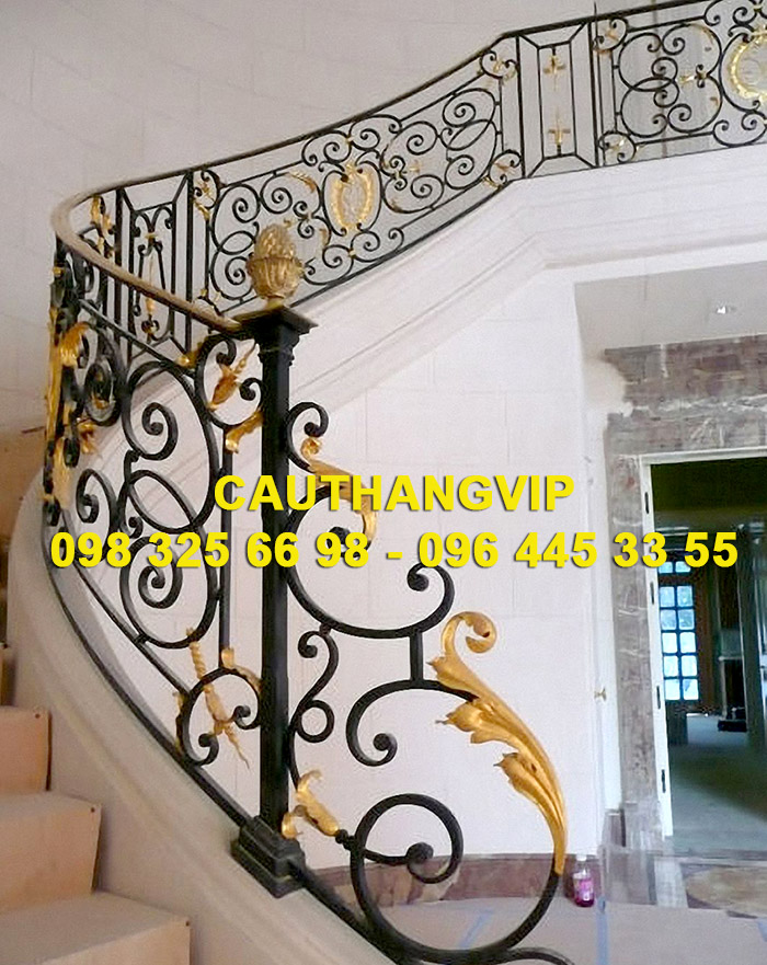 Báo giá cầu thang sắt mỹ thuật VIP SMT15